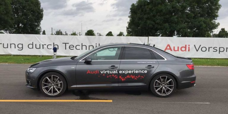 hands-on a real AUDI and drive in VR – ViTraC