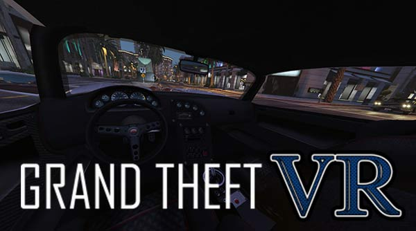 play the open world game GTA in VR