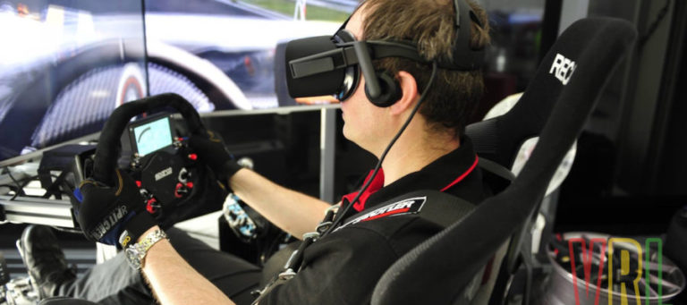 pro racing arcade using also VR near Stuttgart