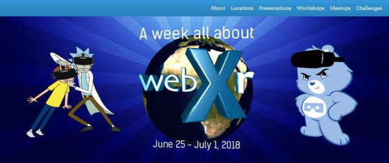 It's WebXR Week 2018!