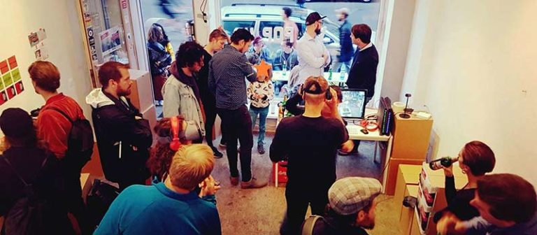 Berlin local VR POP UP 2018 by Vragments
